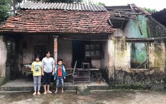 Chồng đột ngột mất vì điện giật để lại hai con thơ cho người vợ bệnh tật