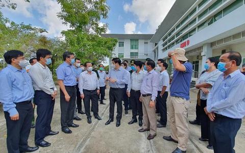 Bộ Y tế: Kiên Giang cần siết chặt đường biên, giữ vững đường biển, hạn chế tối đa nguy cơ dịch bệnh xâm nhập từ bên ngoài