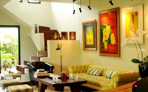 Chiêm ngưỡng phòng khách tuyệt đẹp nhà sao Việt
