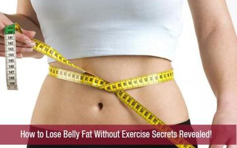 8 cách giảm béo đơn giản mà không cần tập thể dục
