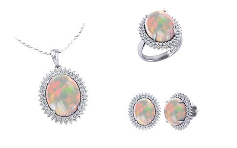 """Cùng bộ sưu tập đá Opal của DOJI nói """"Con yêu Mẹ"""""""