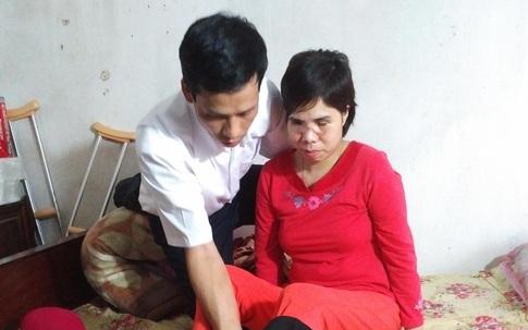 Xót xa gia cảnh người phụ nữ mù mắt sau khi bị xe tải tông