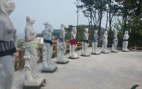 Thông tin mới nhất về tượng 12 con giáp mặc bikini ở Đồ Sơn (Hải Phòng)