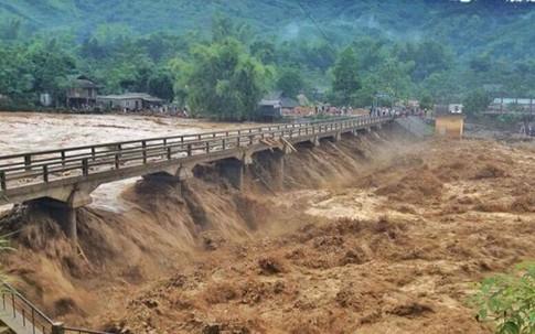 Điện khẩn cảnh báo ngập lụt, tràn, vỡ đê bao