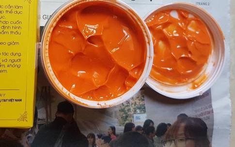 Ngứa, rát, đỏ da sau khi  dùng kem tan mỡ