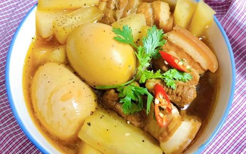 Ngày lạnh nấu ngay thịt kho củ cải trắng cả nhà vừa ăn vừa tấm tắc khen