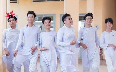 Học sinh THPT nói gì trước ý kiến nam sinh nên mặc áo dài khi đến trường