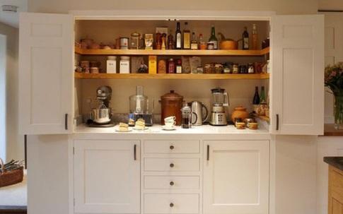 Nhà bếp nhỏ đến đâu cũng vẫn đẹp nhờ cách lưu trữ thông minh này