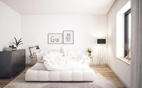Ai muốn phòng ngủ của mình sang trọng mãi với thời gian đừng bỏ qua các mẫu phòng ngủ màu trắng đẹp hớp hồn này