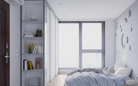 """Những phòng ngủ được thiết kế riêng cho nhà nhỏ khiến người khác phải """"đỏ mắt"""" ghen tỵ"""