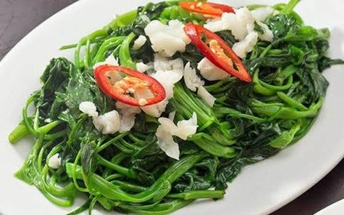 Đây mới là cách ăn rau muống an toàn nhất các mẹ Việt nên áp dụng ngay