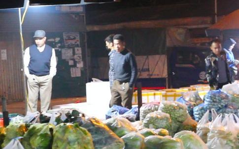 Thờ ơ phòng chống dịch tại các chợ đầu mối đông đúc của TP Hà Nội