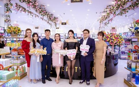 Cháy cùng Chi Pu tại khai trương cửa hàng AB BEAUTY WORLD mới nhất