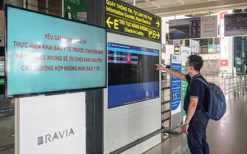 Cận cảnh sân bay Nội Bài vắng vẻ ngày đầu mở cửa đón khách trở lại