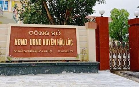 Thanh Hóa:  Trưởng phòng Tài nguyên và Môi trường huyện bị khởi tố