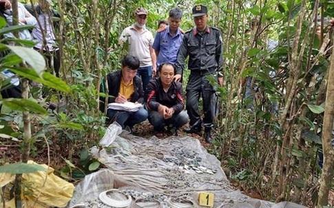 Tin lời thầy cúng rởm, một người phụ nữ mang 16kg vàng vào rừng làm lễ giải hạn