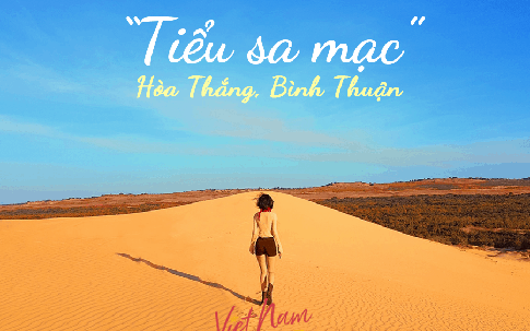 """Bàu Trắng - Bình Thuận: """"Tiểu sa mạc"""" hút hồn với cồn cát trải dài tới chân trời"""
