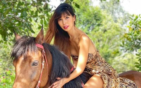 Dân mạng mê mẩn hình ảnh Hà Anh cưỡi ngựa, đằng sau body đẹp này là cả một bí kíp giữ dáng ít người biết