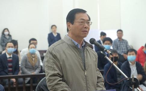 Mở lại phiên toà xét xử cựu Bộ trưởng Vũ Huy Hoàng
