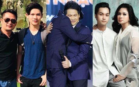 """3 cậu con trai tài năng, điển trai """"vượt bố"""" của Quốc Trung, Bằng Kiều, Trọng Tấn"""
