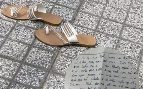 Thương tâm: Người mẹ trẻ trầm cảm nhảy sông Đồng Nai để lại thư tuyệt mệnh