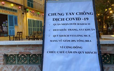Quán nhậu Sài Gòn chấp nhận thưa vắng khách, chung tay chống COVID-19