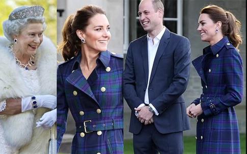 Chi tiết tế nhị chứng minh Công nương Kate luôn hướng về nhà chồng và chăm chỉ sự nghiệp phục vụ hoàng gia Anh