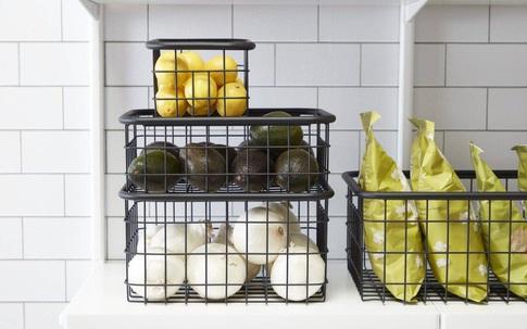 Ý tưởng lưu trữ rau quả thông minh cho căn bếp nhà bạn vừa gọn vừa đẹp