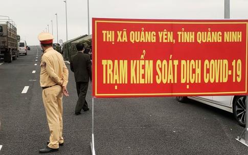 Từ 0h đêm nay, người dân đi qua các chốt kiểm soát ở Quảng Ninh xuất trình các giấy tờ gì?
