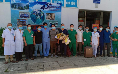 """Thầy thuốc tại Đà Nẵng lên đường """"chia lửa"""" với tâm dịch Bắc Giang"""