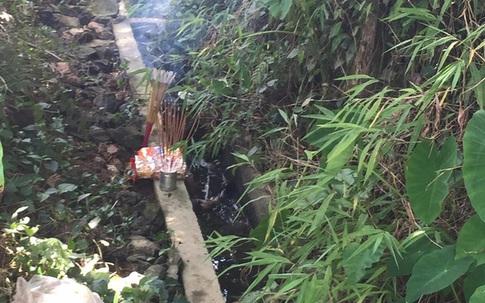 Đã tìm ra sản phụ bỏ con mới đẻ dưới cống nước ở Hà Giang