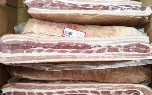Thịt heo chỉ hơn 50.000 đồng/kg vẫn ồ ạt nhập về Việt Nam