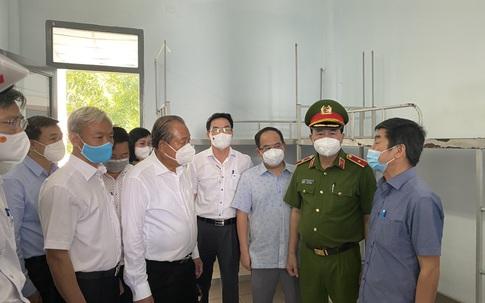 Phó Thủ tướng Trương Hòa Bình: Đồng Nai phải chuẩn bị kịch bản cho tình huống xấu hơn