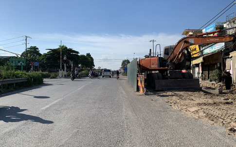 Khắc phục tình trạng mất ATGT trong quá trình thi công mở rộng QL1A huyện Thường Tín - Hà Nội