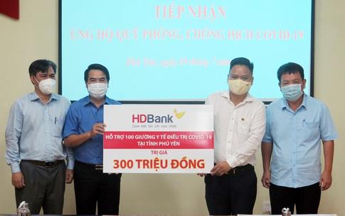 HDBank tặng 100 giường y tế cho tỉnh Phú Yên