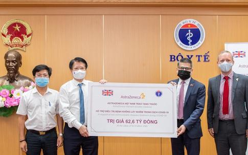Bộ Y tế tiếp nhận 150.000 hộp thuốc của AstraZeneca hỗ trợ điều trị bệnh không lây nhiễm
