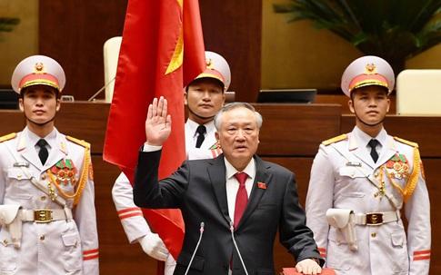 Chánh án TAND tối cao Nguyễn Hòa Bình tuyên thệ nhậm chức
