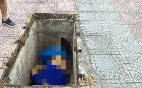 Hà Nội: Phát hiện thi thể người đàn ông dưới hố ga ven đường