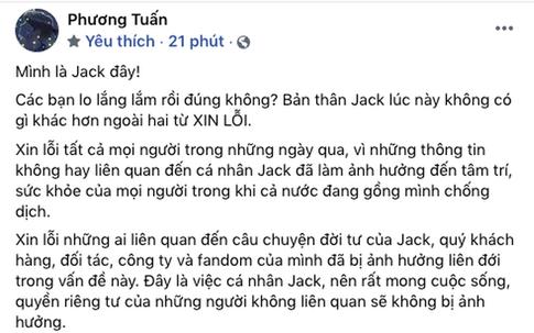 Khen Jack sống có trách nhiệm sau tâm thư xin lỗi, BTV Quang Minh bị dân mạng chỉ trích dữ dội đến nỗi phải lập tức sửa sai