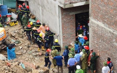 Quảng Ninh: Tin mới nhất vụ sạt lở bờ kè làm 4 người bị vùi lấp