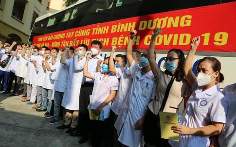 Yên Bái cử đoàn công tác thứ 7 hỗ trợ công tác phòng chống dịch COVID-19