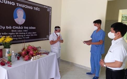 Thứ trưởng Nguyễn Trường Sơn gửi thư chia buồn với điều dưỡng có mẹ mất nhưng không thể về chịu tang