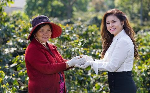 Bà Lê Hoàng Diệp Thảo công bố dự án Happy Farmers cầu nối liên kết với các nhà cung ứng của Việt Nam