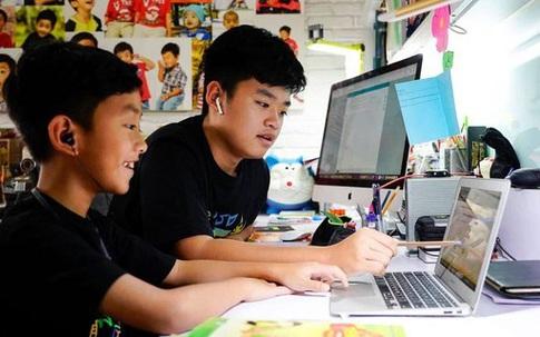 Nhiều nơi không tựu trường, tổ chức học trực tuyến sau khai giảng