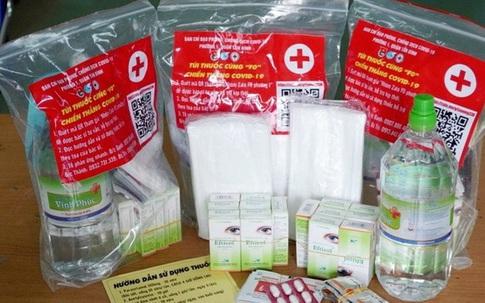 Sở Y tế TP.HCM đề xuất mua thêm 200.000 gói thuốc điều trị cho F0 tại nhà