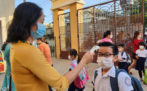Tiêu chí nào để trường học ở TPHCM đón học sinh trở lại?