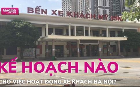 Kế hoạch nào cho việc hoạt động xe khách của Hà Nội?