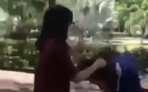 Hải Phòng: Nhóm nữ sinh cấp 2 thay nhau giật tóc, lên gối, đánh đập một nữ sinh khác trường