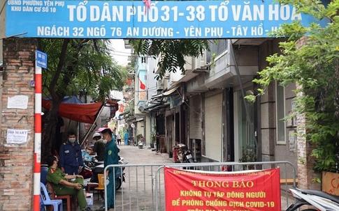 Hà Nội khẩn cấp phong tỏa khu dân cư 4.000 dân sau khi ghi nhận 1 phụ nữ bán bún ốc online dương tính