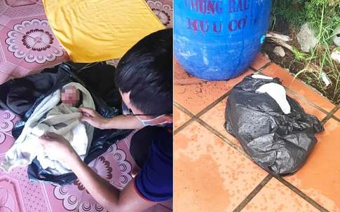 Nam Định: Cứu sống bé gái sơ sinh còn nguyên dây rốn bỏ cạnh thùng rác